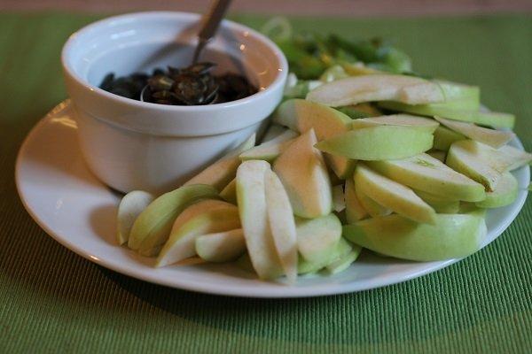 Zutaten für einen leckern Sommersalat