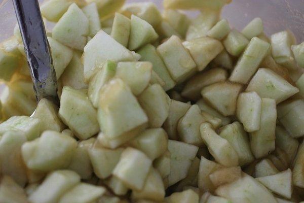Apfelwürfel