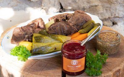 Rezept Pot au Feu mit Rote Bete Birne Chutney