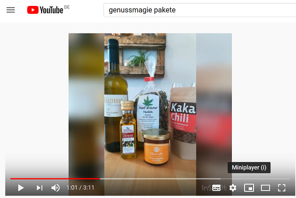 Video zu feinkostpakete