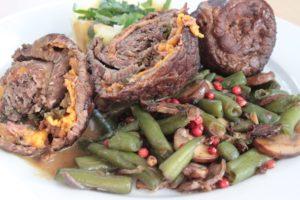 Pilz-Bohnen-Gemüse