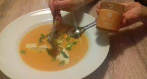 fruchtige Karottensuppe